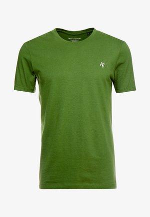 SHORT SLEEVE ROUND NECK - Jednoduché triko - garden green