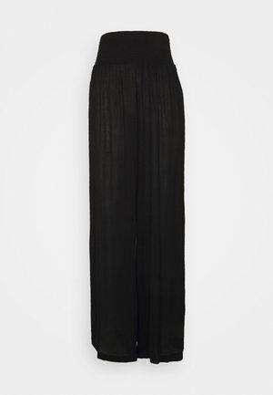 VMGRACEY WIDE PANTS - Pyjamasbukse - black