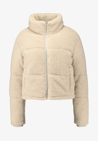 Urban Classics - LADIES BOXY PUFFER - Winter jacket - darksand - 3