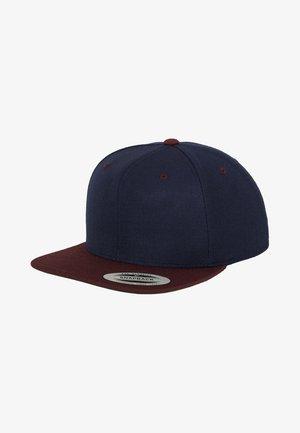 CLASSIC SNAPBACK 2-TONE - Cap - blue/bordeaux