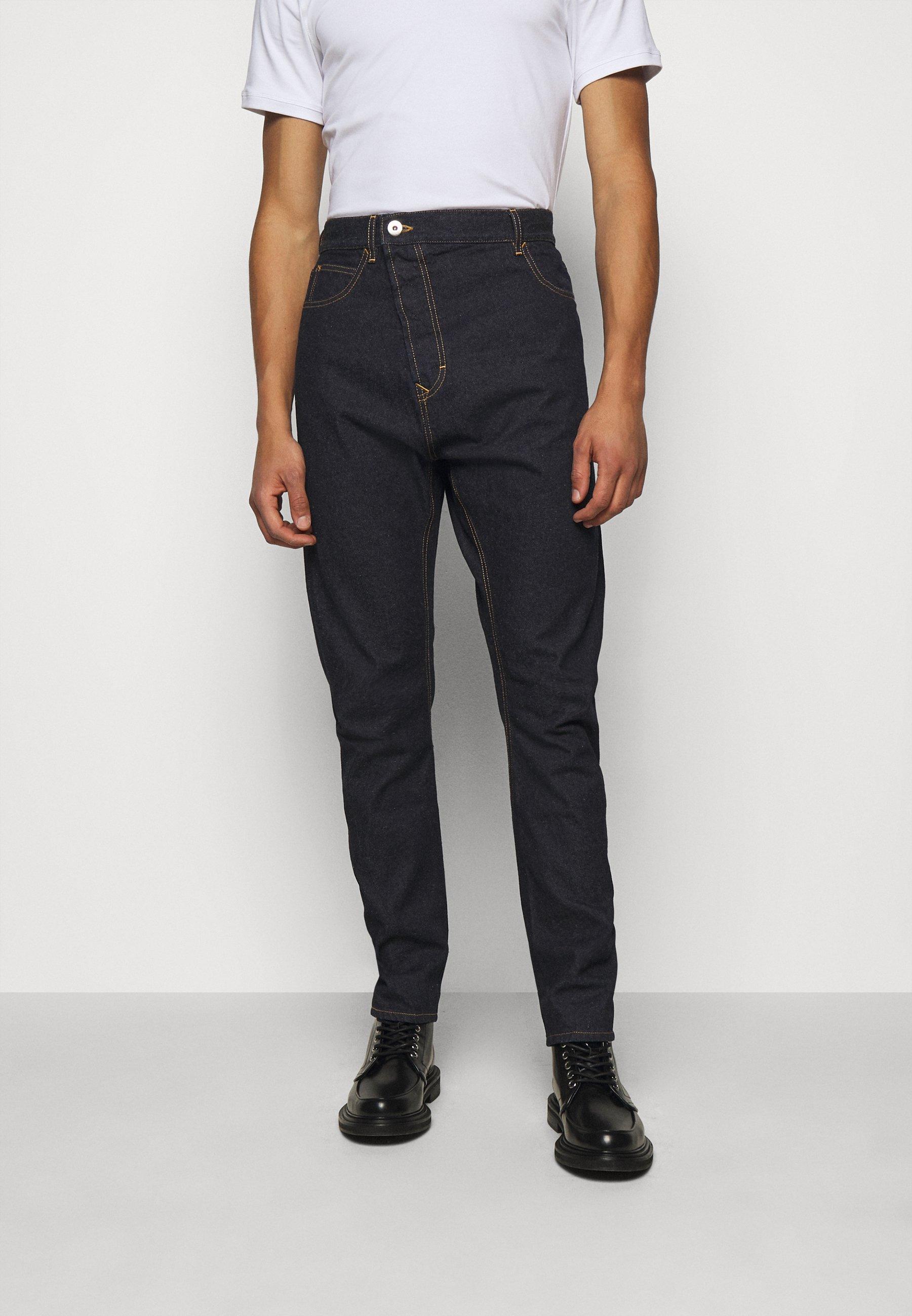 Men NEW ASYMMETRIC - Straight leg jeans
