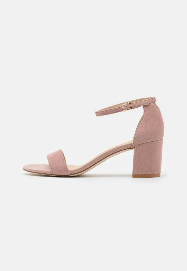 LEATHER - Sandals - rose