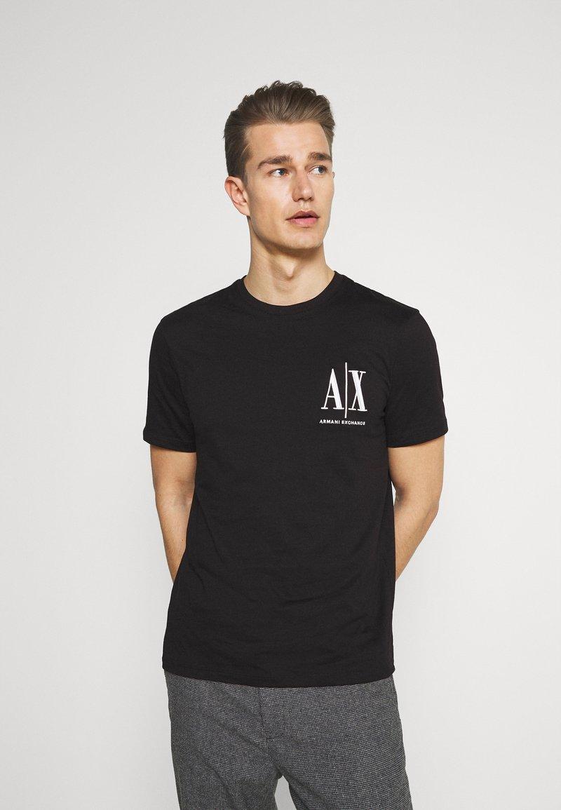 Armani Exchange - Print T-shirt - black