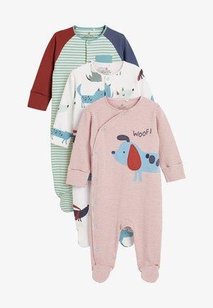 3 PACK - Sleep suit - red