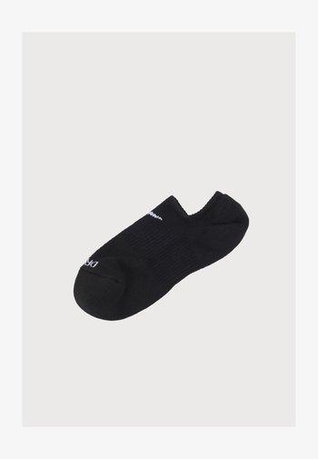 EVERYDAY PLUS CUSH FOOTIE 3 PACK UNISEX - Calcetines de deporte - black/white