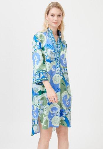 KAMILLE - Day dress - khanga green