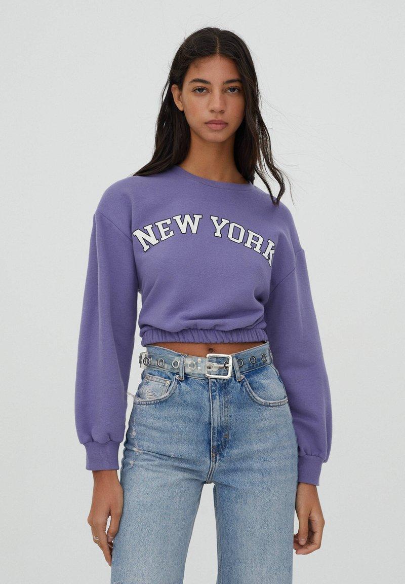 PULL&BEAR - Sweatshirt - mauve
