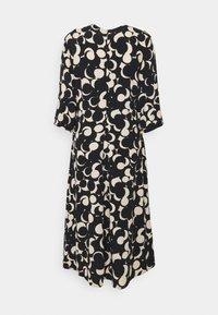 Marimekko - PEILAUS MURIKAT DRESS - Denní šaty - black/beige - 7