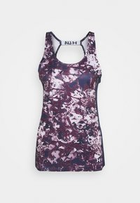 Under Armour - FLY BY PRINTED TANK - Sports shirt - purple - 5