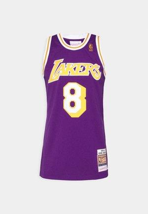 NBA KOBE BRYANT LA LAKERS 96-97 SWINGMAN - Klubové oblečení - purple