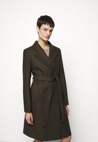 Filippa K - KAYA COAT - Klasický kabát - pine green - 3