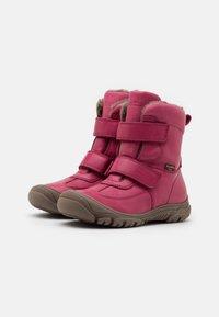 Froddo - LINZ TEX MEDIUM FIT - Zimní obuv - fuxia - 1