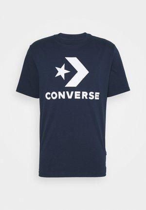 STAR CHEVRON TEE - T-shirt con stampa - obsidian