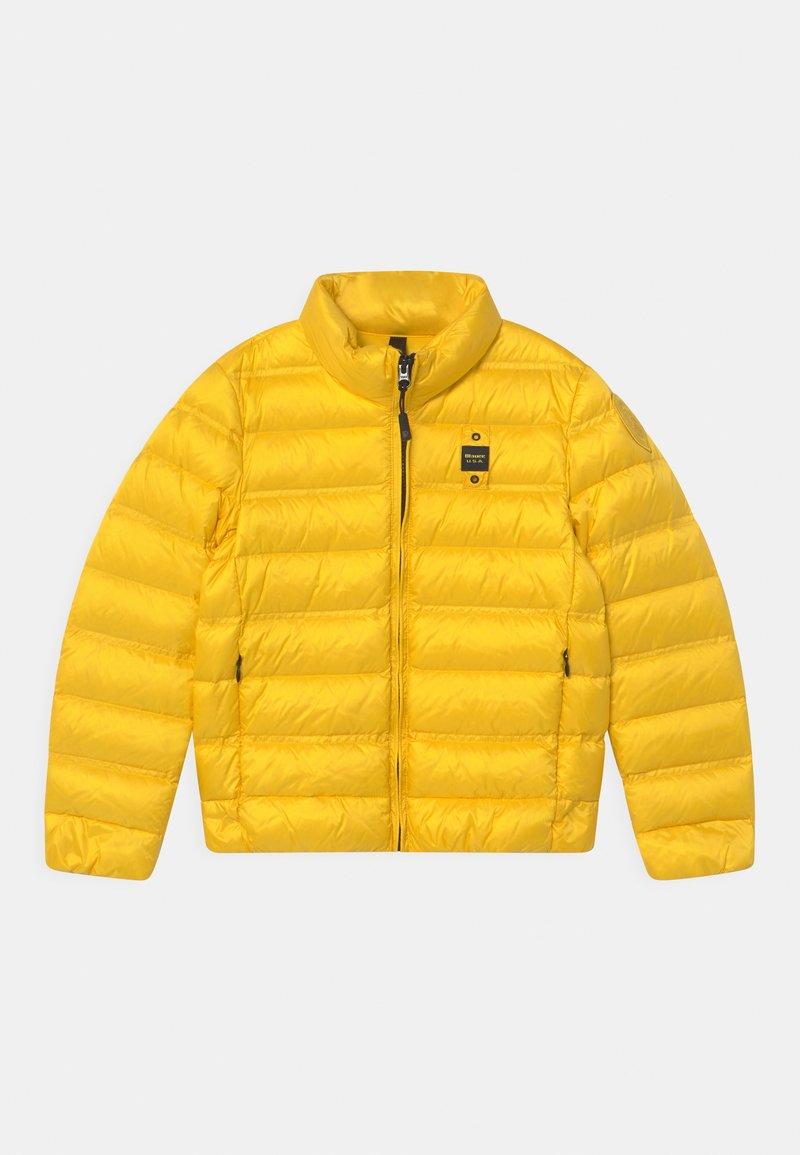 Blauer - GIUBBINI CORTI - Bunda zprachového peří - yellow