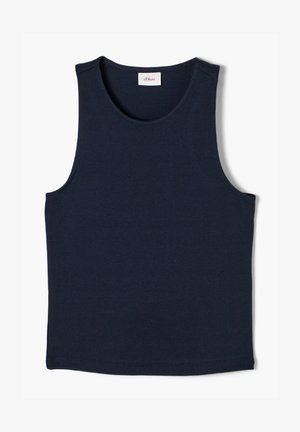 Top - dark blue