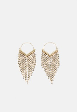 PCPETRA EARRINGS - Earrings - gold-coloured/clear