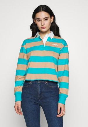 CROPPED - Polo shirt - carribean sea