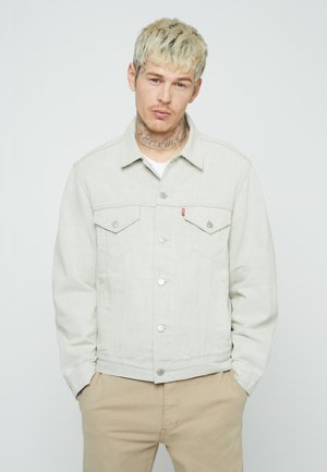 VINTAGE FIT TRUCKER UNISEX - Denim jacket - greys