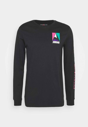 MOUNTAINSIDE CREW - Long sleeved top - black