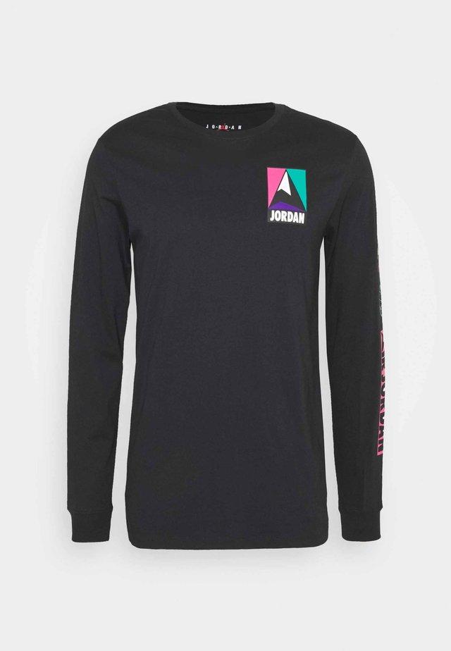 MOUNTAINSIDE CREW - Long sleeved top - black