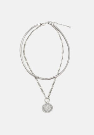 COIN PENDANT - Ketting - silver-coloured