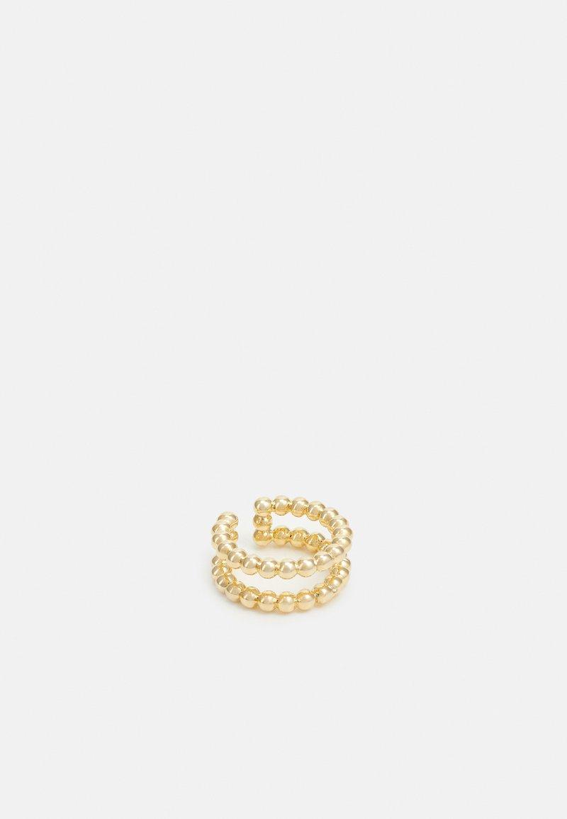 Leslii - EARCUFF - Náušnice - gold-coloured