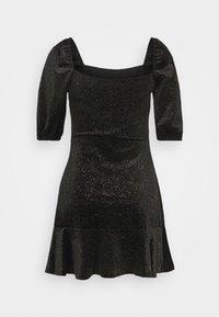 Miss Selfridge - RUCHED DRESS - Freizeitkleid - black - 1