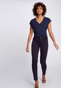 Morgan - Print T-shirt - dark blue - 1