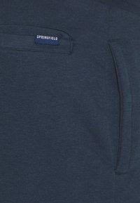 Springfield - TERRY - Pantaloni sportivi - medium blue - 6
