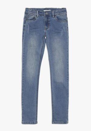 NKMTHEO PANT - Slim fit jeans - light blue denim