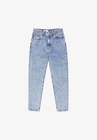 PULL&BEAR - MOM FIT - Straight leg jeans - blue denim - 5