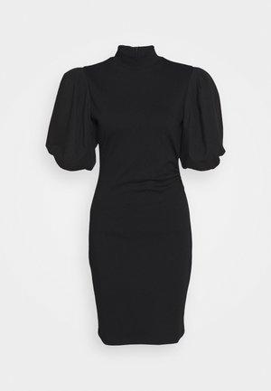 BIMA TURTLENECK DRESS - Vestito estivo - black