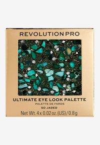 Revolution PRO - ULTIMATE EYE LOOK SO JADED PALETTE - Eyeshadow palette - - - 3