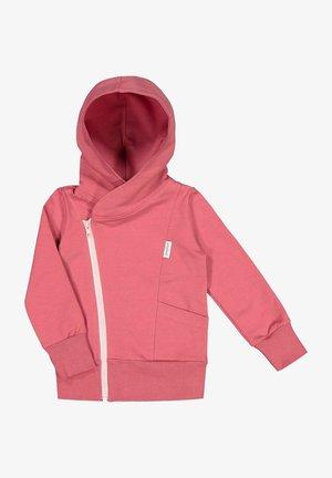 Zip-up sweatshirt - cherry bomb/romance pink