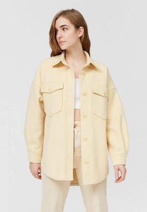 Summer jacket - mottled beige