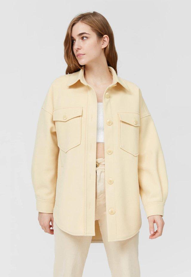 Lehká bunda - mottled beige