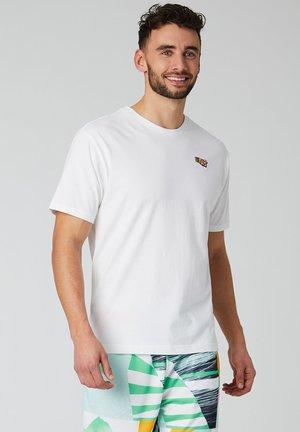 ATHLETICS TROPIC  - Print T-shirt - White