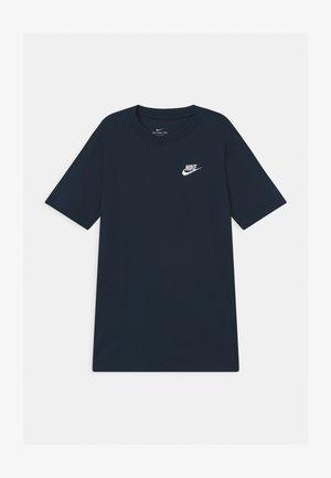 FUTURA TEE - Camiseta básica - obsidian