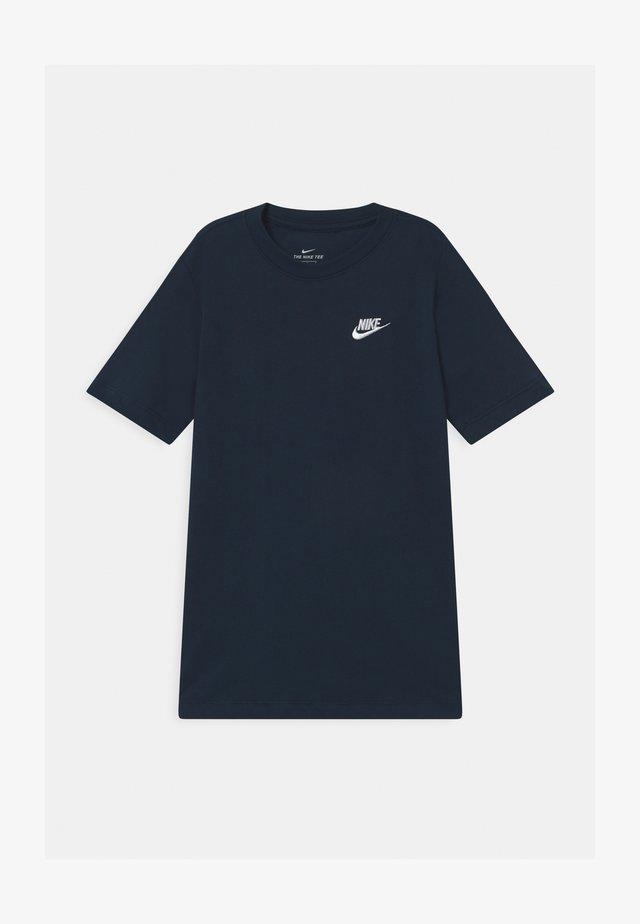 FUTURA TEE - Basic T-shirt - obsidian