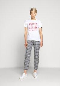 J.CREW - MOTHERS DAY TEE - Print T-shirt - white - 1