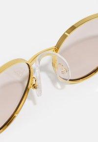 Gucci - UNISEX - Sunglasses - gold-coloured/yellow - 4