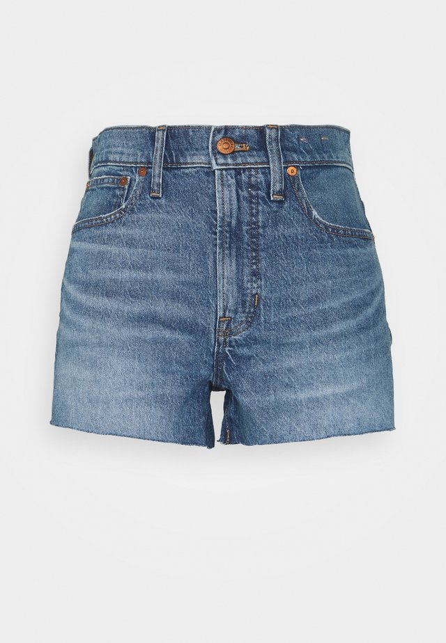THE PERFECT SHORT - Denim shorts - balsam