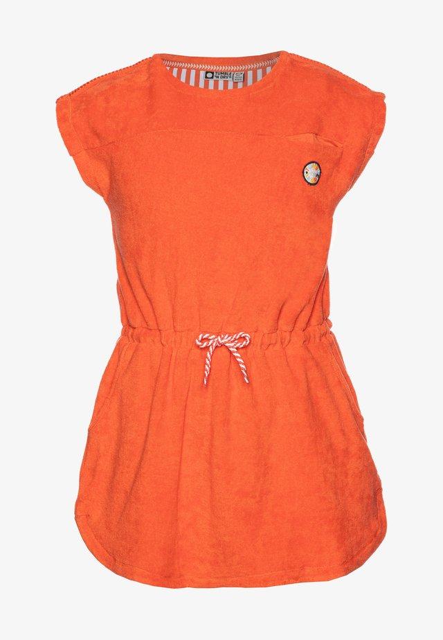 Denní šaty - nasturtium