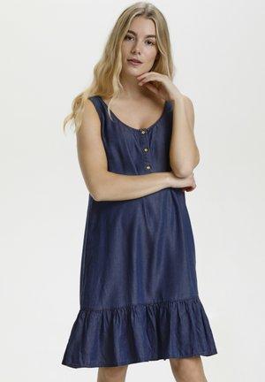 Sukienka letnia - light blue wash
