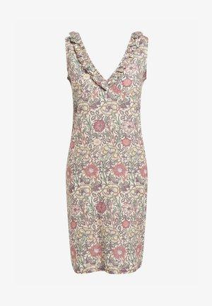 MORRIS & CO. AT NEXT LINEN MIX RUFFLE DRESS - Day dress - pink