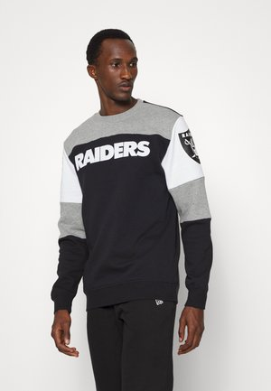 NFL OAKLAND RAIDERS PERFECT SEASON CREW - Klubové oblečení - black
