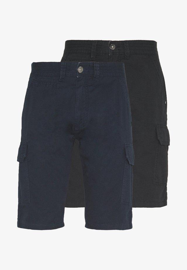 EXCLUSIVE ATWATER 2 PACK - Reisitaskuhousut - navy/black