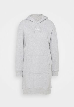ACTIVE HOODIE DRESS - Sports dress - grey melange