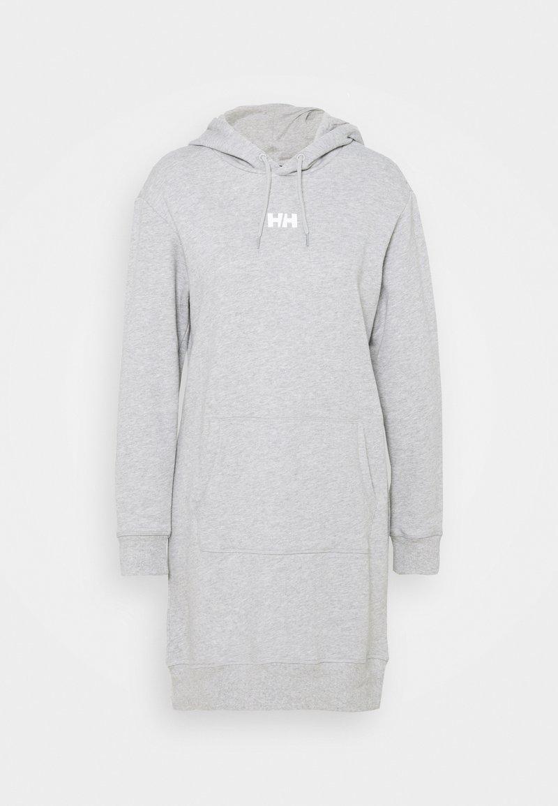 Helly Hansen - ACTIVE HOODIE DRESS - Robe de sport - grey melange