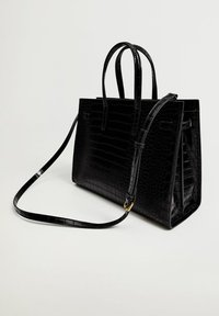 Mango - Handbag - svart - 1